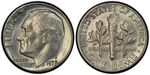 U.S. 10-cent Dime 1979 Coin