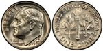 U.S. 10-cent Dime 1980 Coin