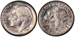 U.S. 10-cent Dime 1981 Coin