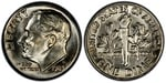 U.S. 10-cent Dime 1983 Coin