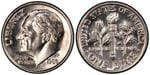 U.S. 10-cent Dime 1986 Coin