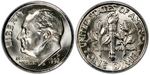 U.S. 10-cent Dime 1992 Coin