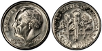 U.S. 10-cent Dime 1993 Coin