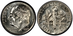 U.S. 10-cent Dime 1997 Coin