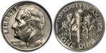 U.S. 10-cent Dime 1999 Coin