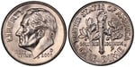 U.S. 10-cent Dime 2006 Coin