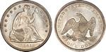 U.S. Dollar Coin 1841