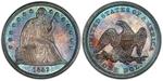 U.S. Dollar Coin 1842