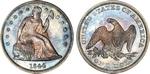U.S. Dollar Coin 1844