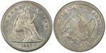 U.S. Dollar Coin 1845