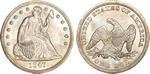 U.S. Dollar Coin 1847