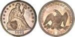 U.S. Dollar Coin 1851