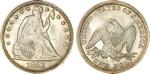 U.S. Dollar Coin 1853