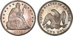 U.S. Dollar Coin 1855