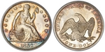 U.S. Dollar Coin 1857