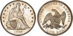 U.S. Dollar Coin 1859