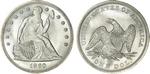 U.S. Dollar Coin 1860