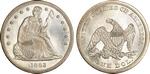 U.S. Dollar Coin 1863