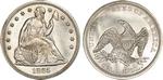 U.S. Dollar Coin 1865