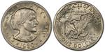 U.S. Dollar Coin 1980