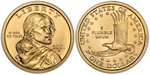 U.S. Dollar Coin 2001