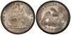 U.S. 50-cent Half Dollar 1860 Coin
