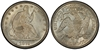 U.S. 50-cent Half Dollar 1875 Coin