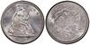 U.S. 50-cent Half Dollar 1877 Coin