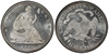 U.S. 50-cent Half Dollar 1881 Coin