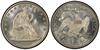 U.S. 50-cent Half Dollar 1884 Coin