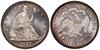 U.S. 50-cent Half Dollar 1887 Coin