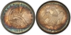 U.S. 50-cent Half Dollar 1889 Coin