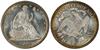 U.S. 50-cent Half Dollar 1890 Coin