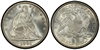 U.S. 50-cent Half Dollar 1891 Coin