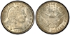U.S. 50-cent Half Dollar 1908 Coin