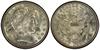 U.S. 50-cent Half Dollar 1915 Coin