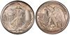 U.S. 50-cent Half Dollar 1916 Coin
