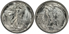 U.S. 50-cent Half Dollar 1945 Coin