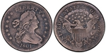 U.S. Nickel 1801 Cent Coin