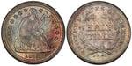 U.S. Nickel 1843 Cent Coin