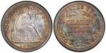 U.S. Nickel 1847 Cent Coin
