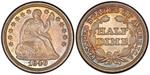 U.S. Nickel 1849 Cent Coin