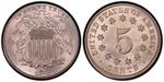 U.S. Nickel 1875 Cent Coin