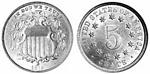 U.S. Nickel 1879 Cent Coin
