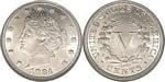 U.S. Nickel 1884 Cent Coin