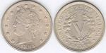 U.S. Nickel 1893 Cent Coin