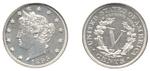 U.S. Nickel 1895 Cent Coin