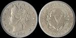 U.S. Nickel 1897 Cent Coin