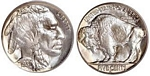 U.S. Nickel 1937 Cent Coin