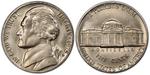 U.S. Nickel 1975 Cent Coin